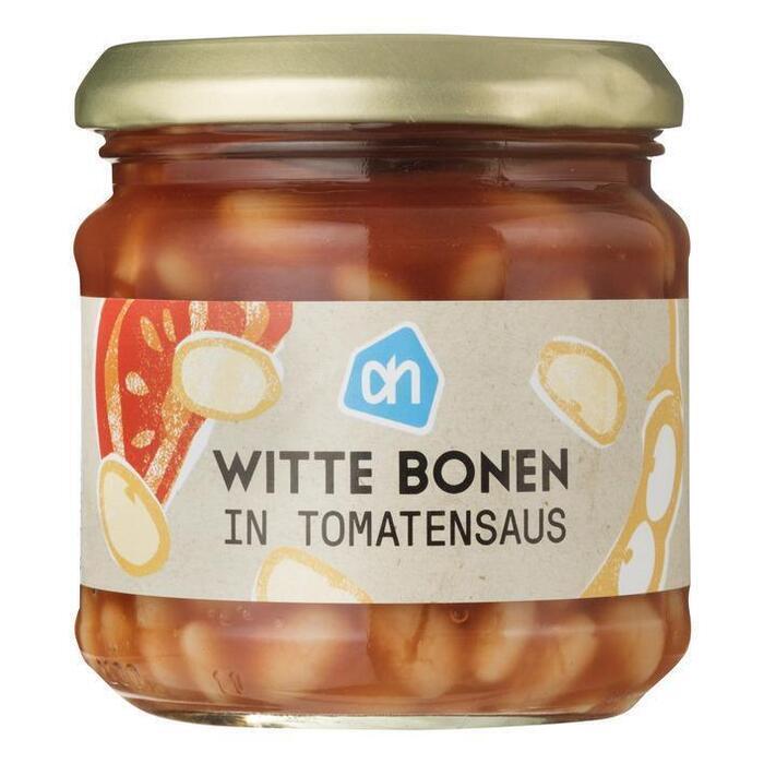 Witte bonen in Tomatensaus (pot, 180g)