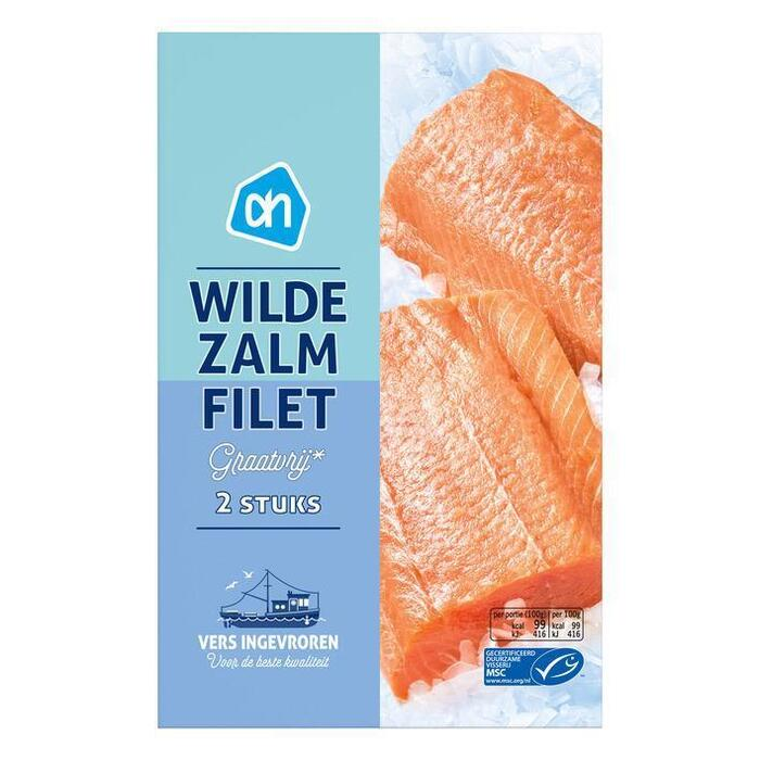 Wild Salmon, MSC (doos, 2 × 250g)