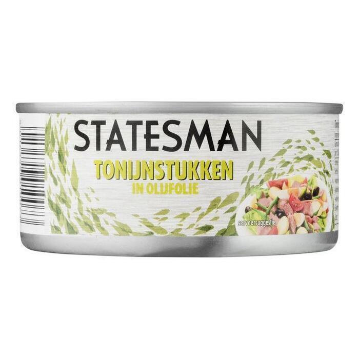 Statesman Tonijn stukken in olijfolie (160g)