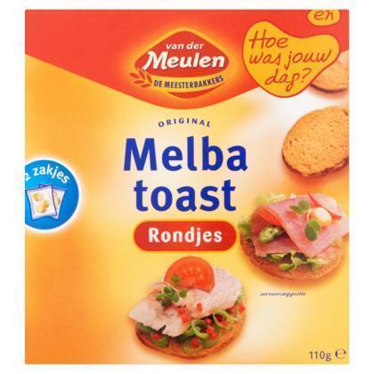 Melba toast rond (110g)