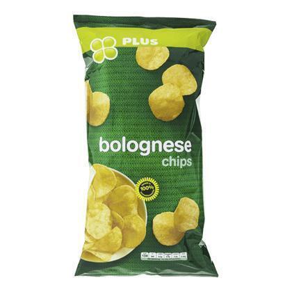 PLUS Chips flat bolognese (225g)