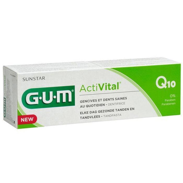 GUM Activital Q10 tandpasta (75ml)