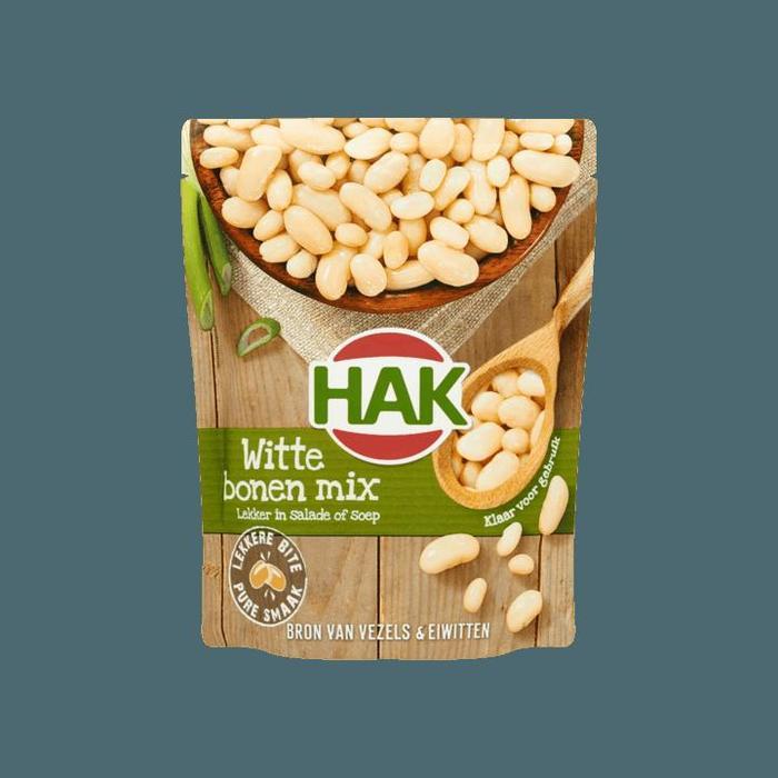 Witte Bonen Mix (zak, 225g)