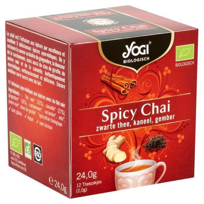Spicy chai (Stuk, 12 × 24g)