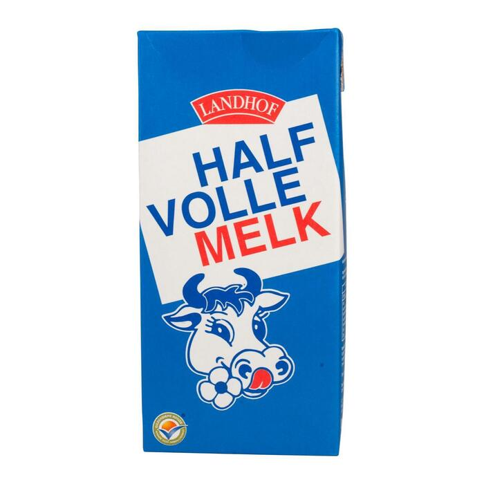 Halfvolle houdbare Melk (pak, 1L)