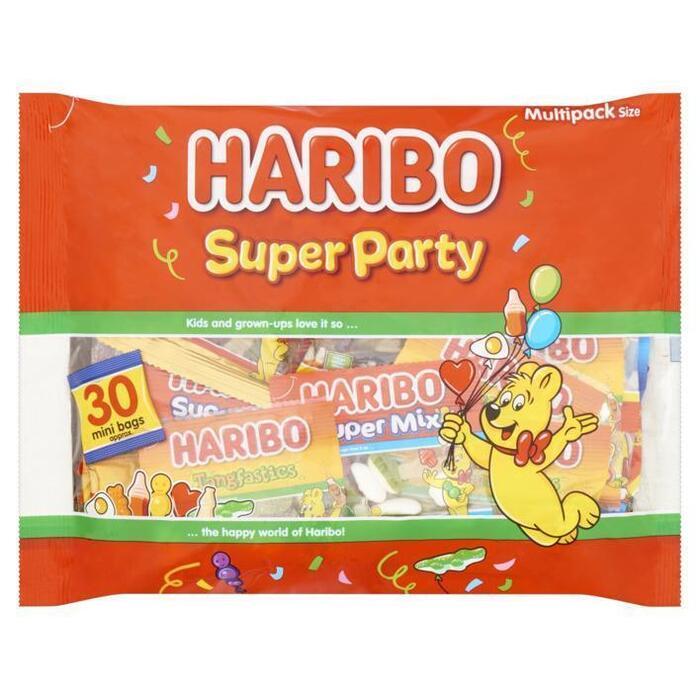 Haribo Fruitgom Super Party 480 g Zak (480g)