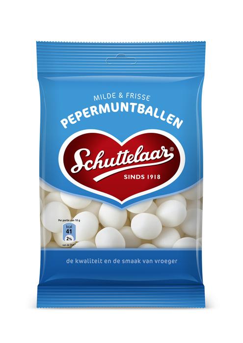 Schuttelaar Pepermuntballen 175 gram (175g)