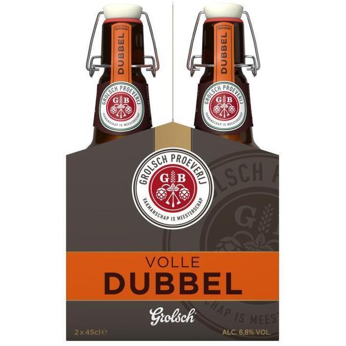 Grolsch Dubbel fles (rol, 0.9L)