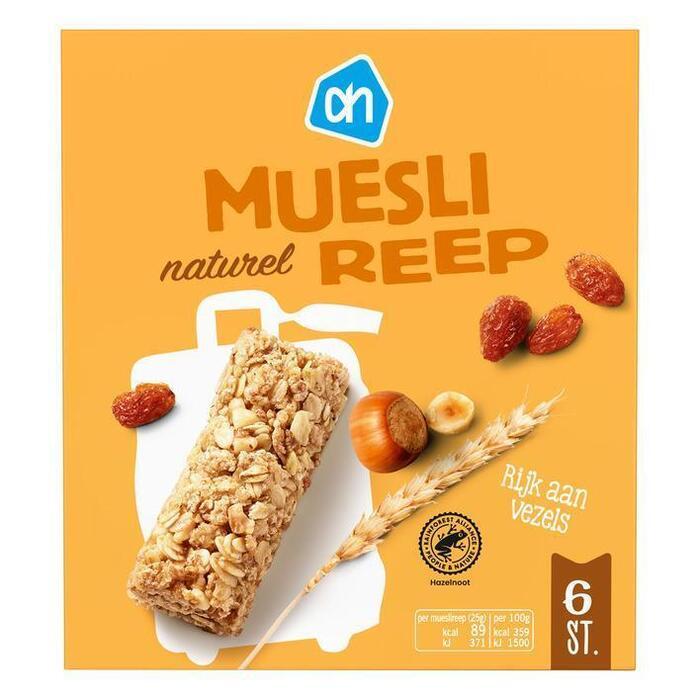 AH Mueslireep naturel (150g)