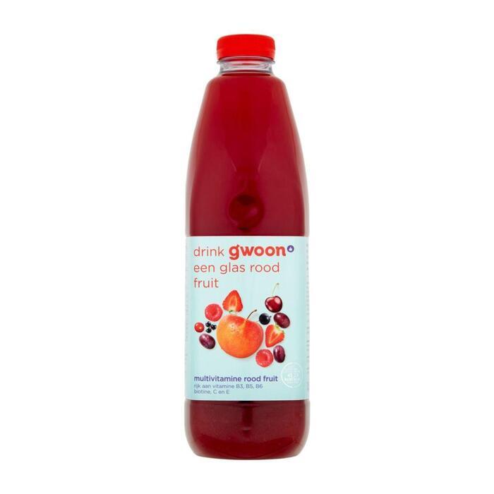 g'woon Multivitamine rood fruit (1.5L)