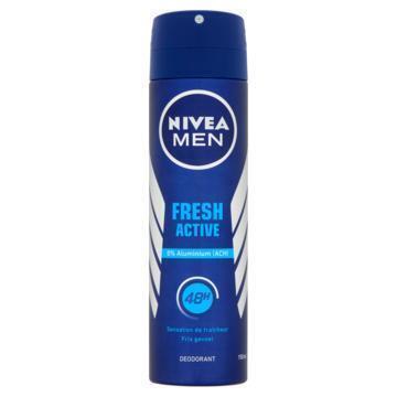 Nivea Men fresh spray (Stuk, 150ml)