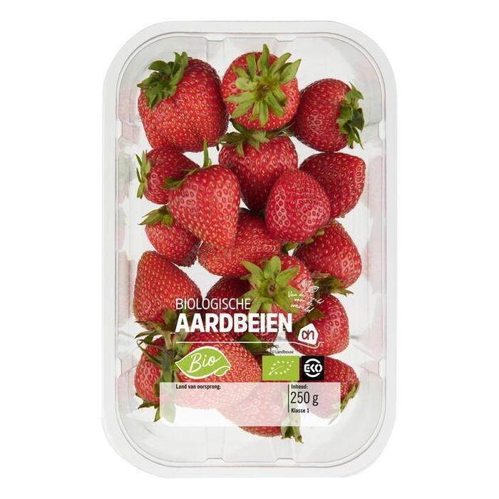 AH Biologisch Aardbeien (250g)