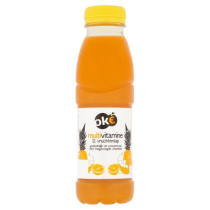 Oké, Multivitamine 12 vruchtensap (petfles, 33cl)