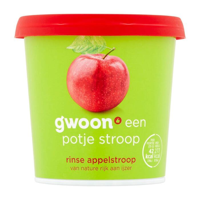 g'woon Rinse appelstroop (450g)
