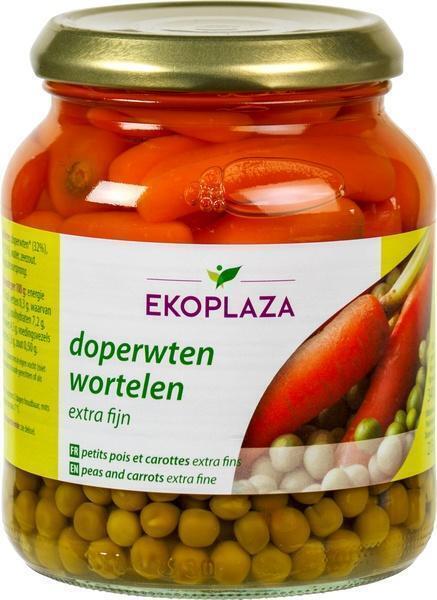 Doperwten/wortelen extra fijn (340g)