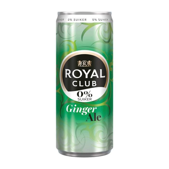 Royal Club Ginger ale 0% 4-pack (250ml)