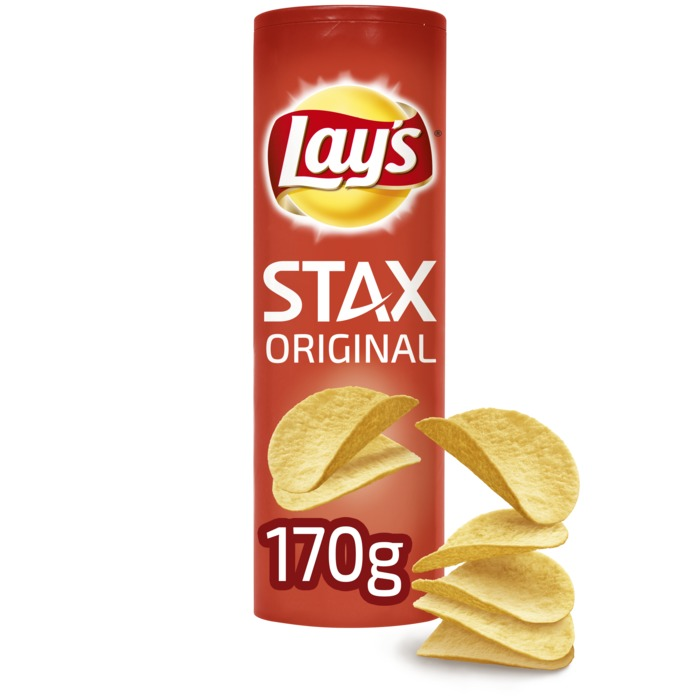 Lay's Stax Aardappelchips Original 170g (170g)