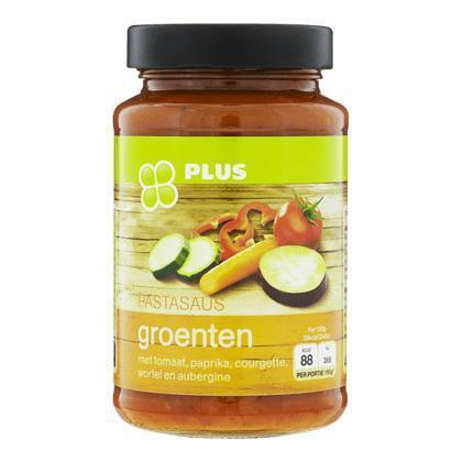 Pastasaus groenten (490g)