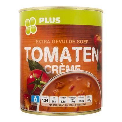 Tomaten cremesoep (0.8L)