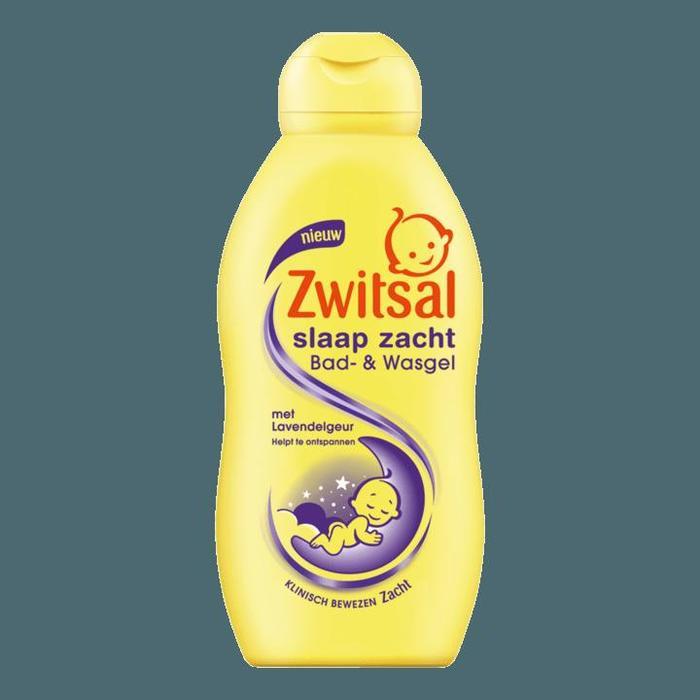 Zwitsal Baby Slaap Zacht Bad- & Wasgel Lavendel 200ml (200ml)