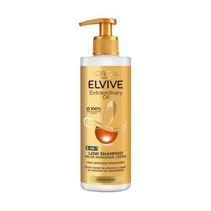 Elvive Extraordinary oil low shampoo (40cl)