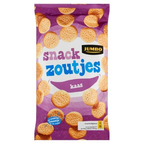 Jumbo Snackzoutjes Kaas 125g (125g)