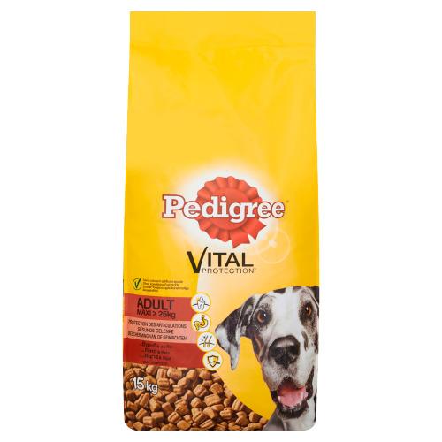 Pedigree Vital Protection Adult Maxi met Rund & Rijst 15 kg (15kg)