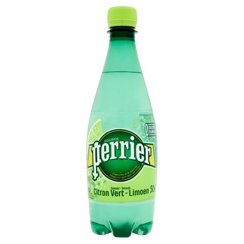 Perrier Limoen pet BEL (0.5L)