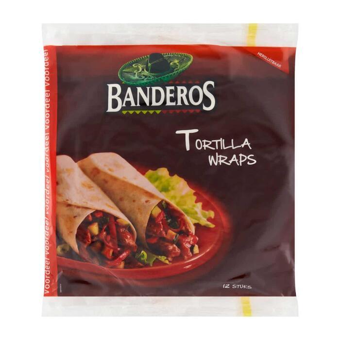 BanderosTortilla wraps original voordeel (740g)