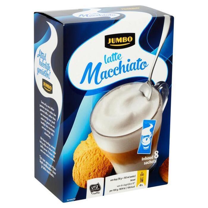 Jumbo Latte Macchiato 8 Sachets 144g (144g)