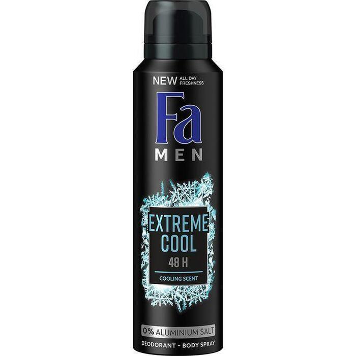 Fa Men Deodorant 48u Extreme Cool 150ml (150ml)
