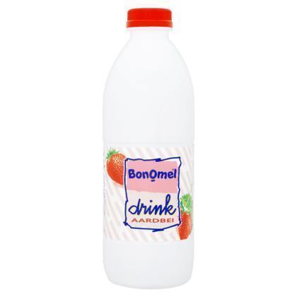 Bonomel Drink Aardbei 1 L (Stuk, 0.95L)