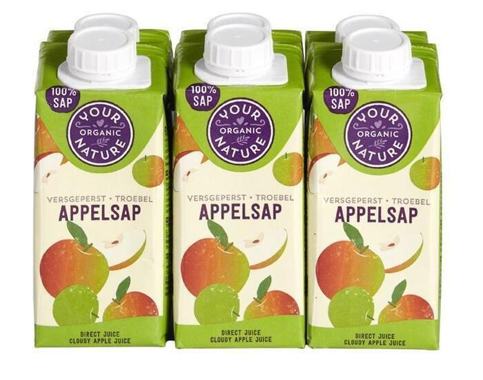 Appelsap 6 x 200 ml (1.2L)