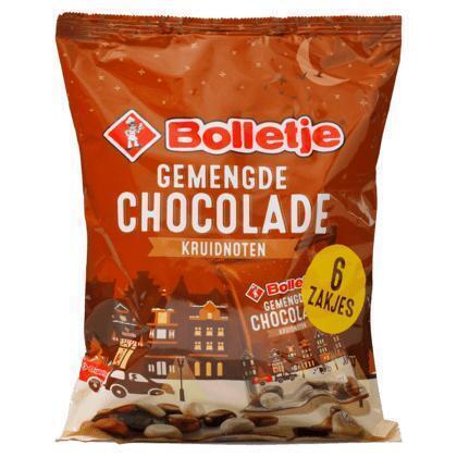 Bolletje Chocolade zakjes gemengd (210g)