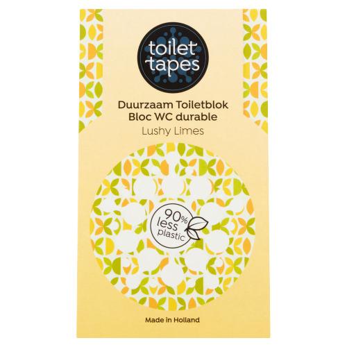 Toilet Tapes Duurzaam Toiletblok Lushy Limes 18 g (18g)