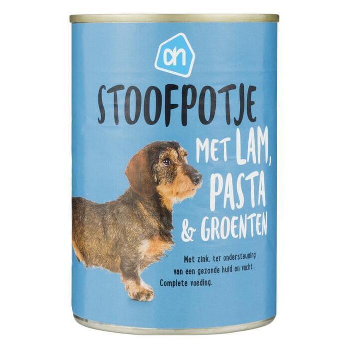 AH Blik stoof lam-pasta-groente (415g)