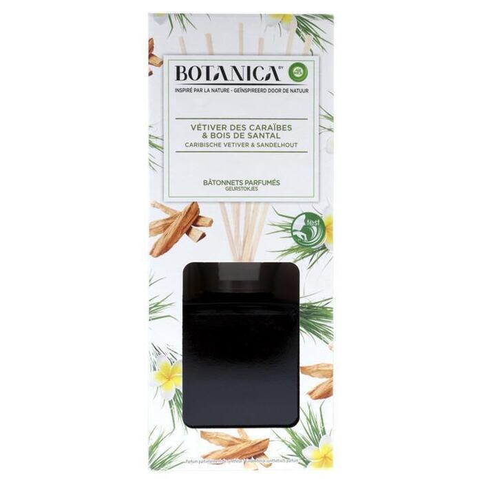 Airwick Botanica geurstokjes Caribische vetiver (80ml)