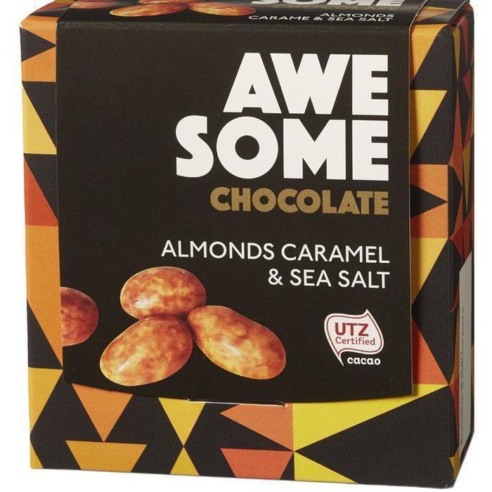 Almonds Caramel & Sea Salt 100 g (100g)