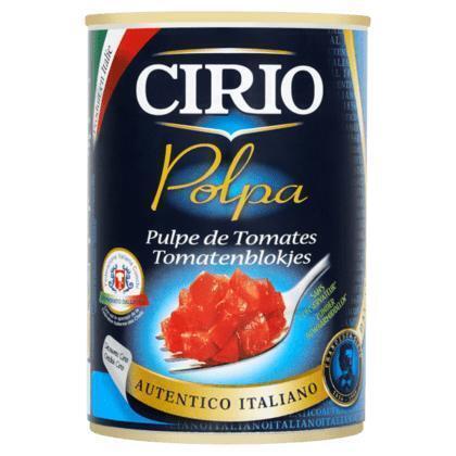 Tomatenblokjes (blik, 42.5cl)