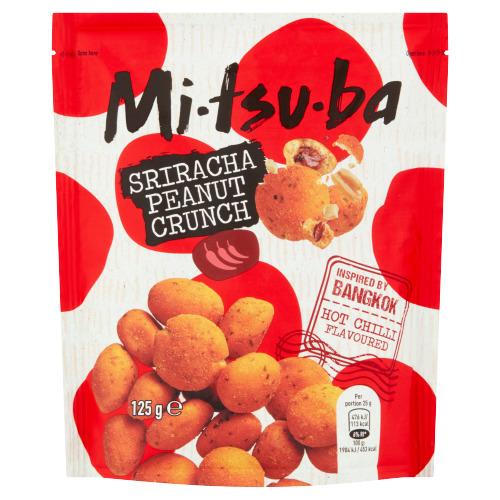 Mitsuba Sriracha Peanut Crunch 125 g (125g)