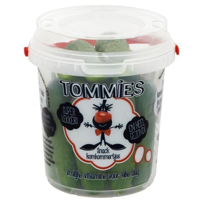 Snackkomkommers (plastic bak, 400g)