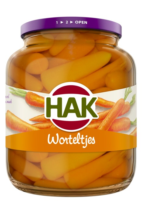 Worteltjes (pot, 680g)