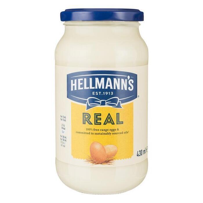 Real Mayonaise (pot, 12 × 43cl)