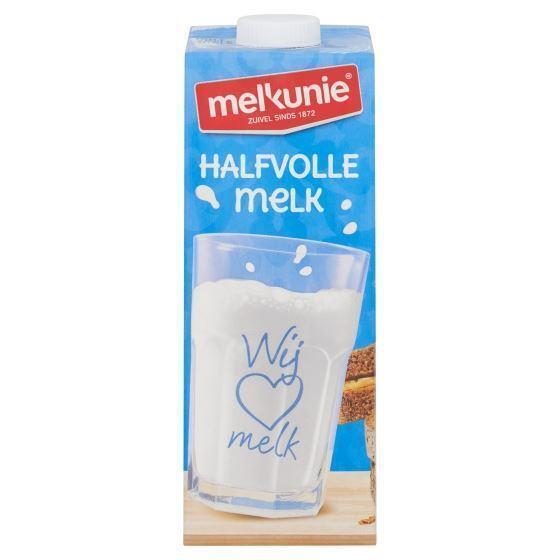 Halfvolle Melk, houdbaar (Stuk, 1L)