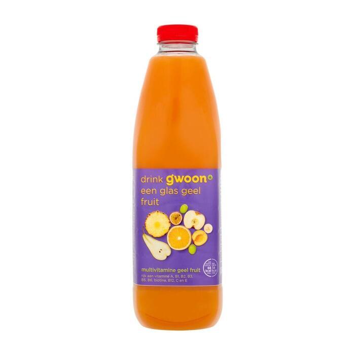 g'woon Multivitamine geel fruit (1.5L)