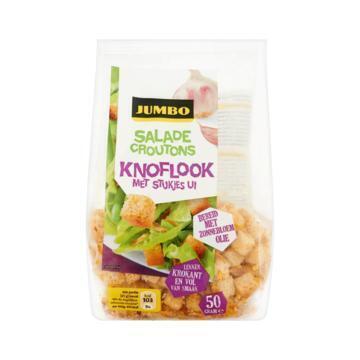 Jumbo Salade Croutons Knoflook met Stukjes Ui 50g (50g)