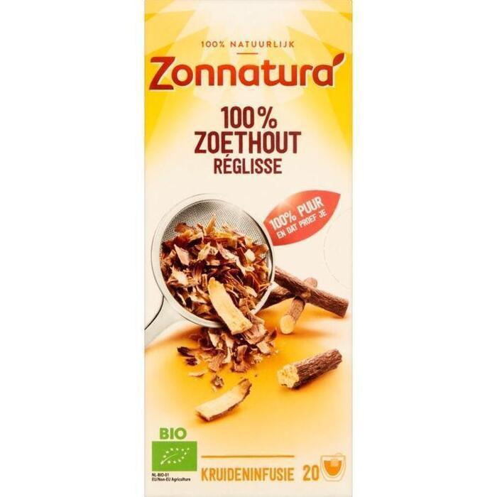 Zoethout Biologisch (doos) (20 × 35g)