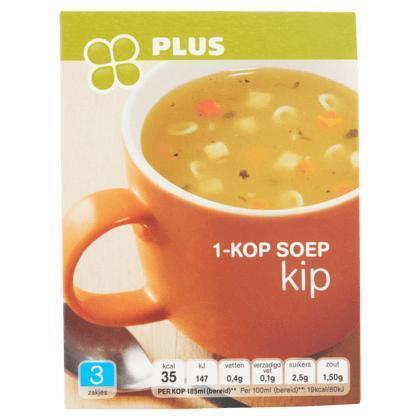 1-Kop soep kip (33g)