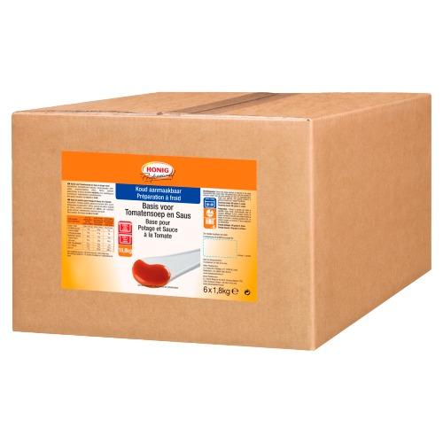 Honig Professional Basis voor Tomatensoep en Saus 6 x 1.8 kg Doos (6 × 1.8kg)
