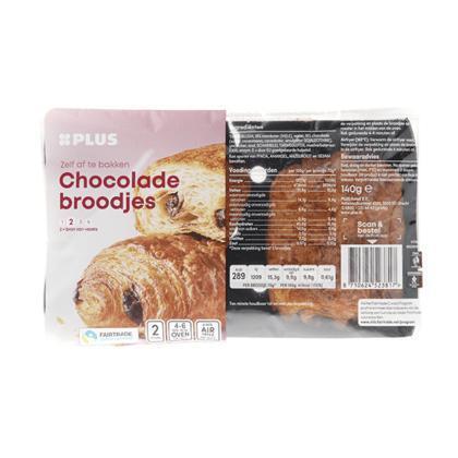 Chocoladebroodjes Fairtrade cacao (140g)